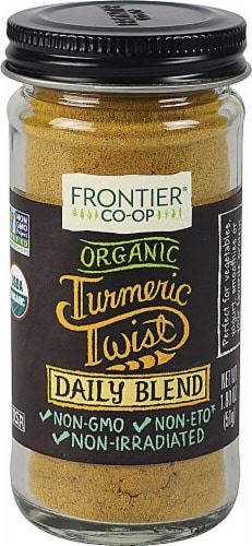 Frontier Turmeric Daily Blend Perspective: front