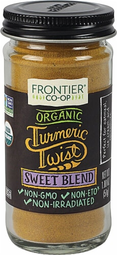 Frontier Turmeric Sweet Blend Perspective: front