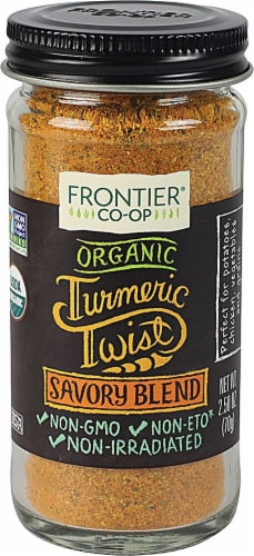 Frontier Turmeric Savory Blend Perspective: front