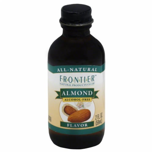Frontier Almond Flavor Perspective: front