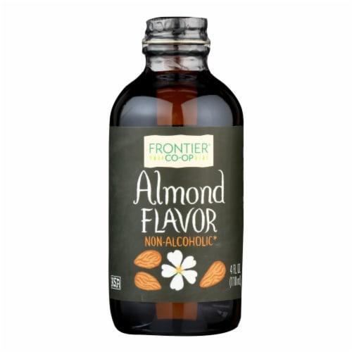 Frontier Herb Almond Flavor - 4 oz Perspective: front
