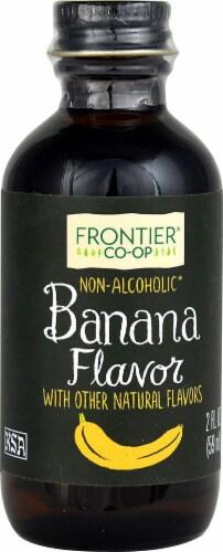 Fronteir Banana Flavor Non-Alcoholic Perspective: front