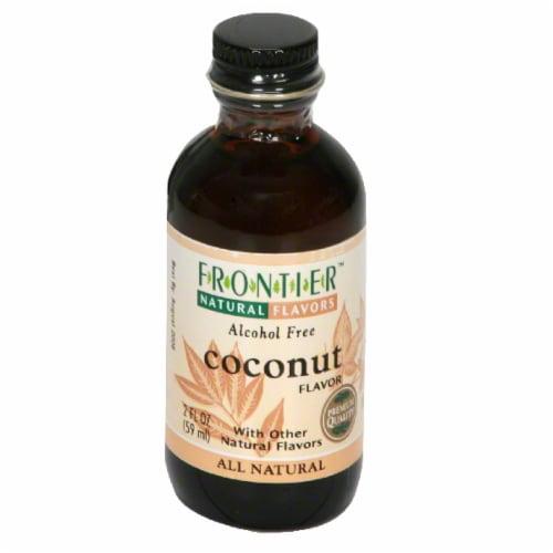 Frontier Coconut Flavor Perspective: front