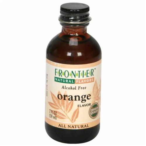 Frontier Orange Flavor Perspective: front