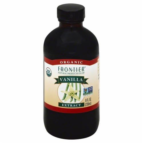Frontier Organic Vanilla Extract Perspective: front