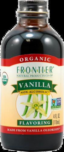 Frontier Organic Vanilla Flavor Perspective: front