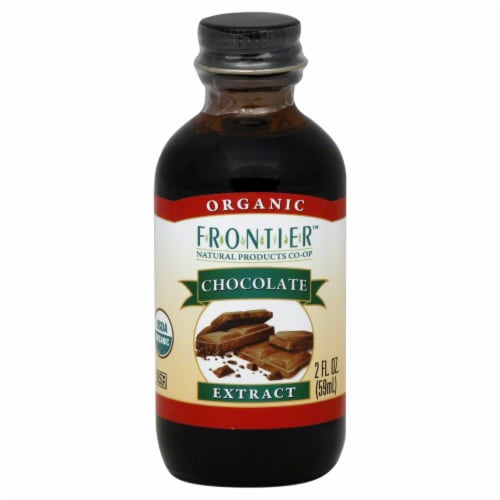 Frontier Organic Chocolate Extract Perspective: front
