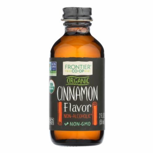 Frontier Organic Cinnamon Flavor Perspective: front