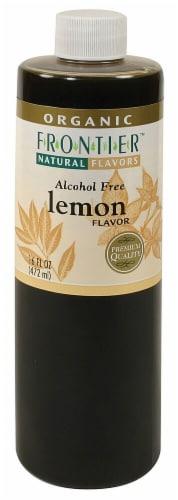 Frontier Nat Flavors Organic Lemon Perspective: front