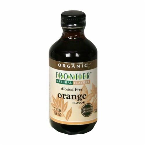 Frontier Organic Orange Flavor Perspective: front