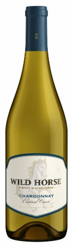 Wild Horse Chardonnay White Wine Perspective: front