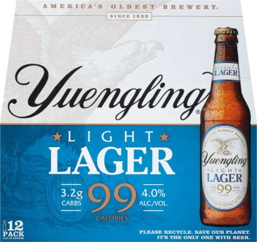 Yuengling Light Lager Perspective: front