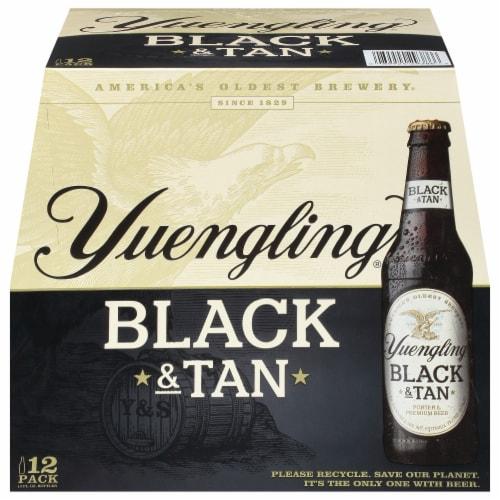 Yuengling Original Black & Tan Porter & Premium Beer Perspective: front