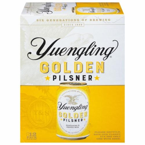 Yuengling Golden Pilsner Beer Perspective: front