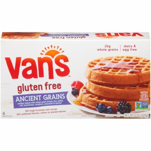Van's Gluten Free Ancient Grains Waffles - 6 ct Perspective: front