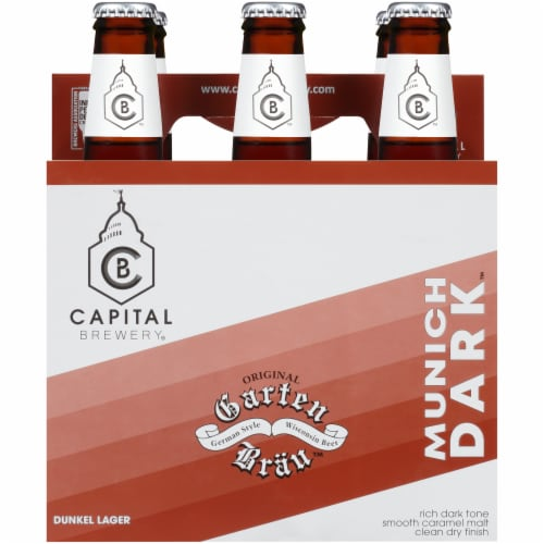 Capital Brewery Munich Dark Dunkel Lager Perspective: front