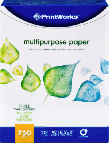 Printworks Multipurpose Paper - White Perspective: front