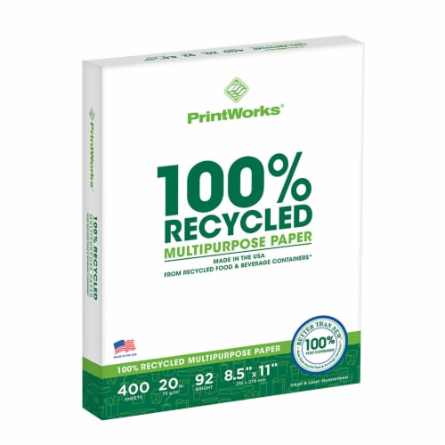Printworks Multi-Purpose Paper - 400 Pack- White Perspective: front