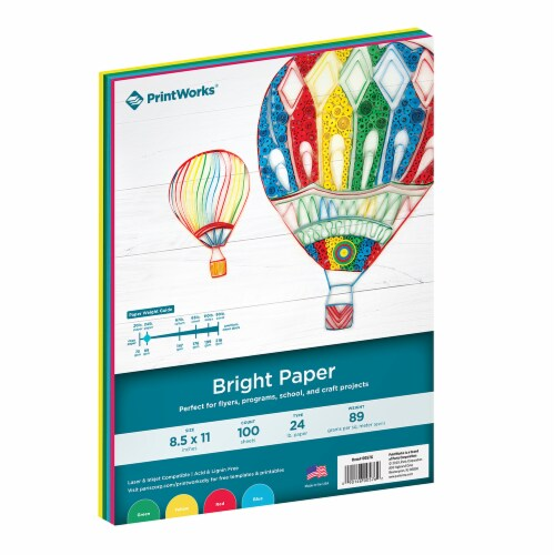 Printworks Multi Paper - Bright Perspective: front
