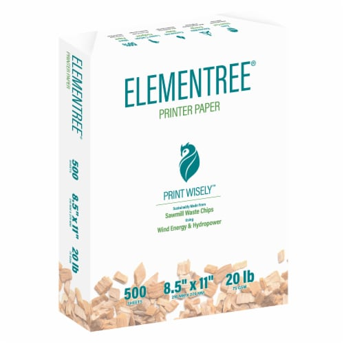 Printworks Elementree Printer Paper - 500 Sheets - White Perspective: front