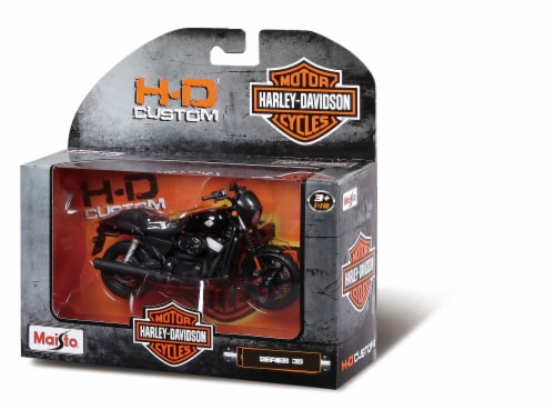 Maisto Harley Davidson Series 35 Toy Perspective: front