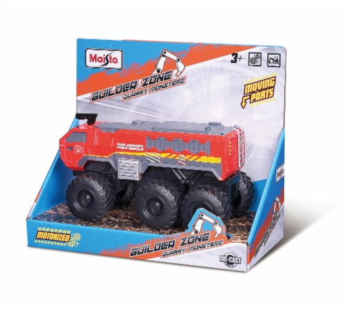 Maisto Builder Zone Quarry Monsters Perspective: front