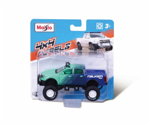 Maisto Fresh Metal 4x4 Rebels Vehicle Perspective: front