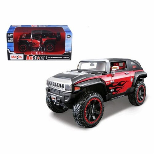 2008 Hummer HX Concept Blue/Orange/White \All Stars\1/24 Diecast Model Car by Maisto Perspective: front