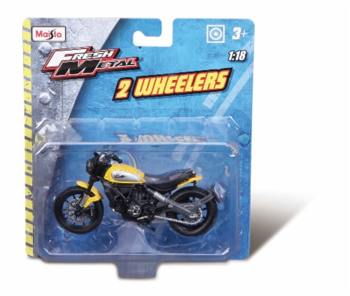 Maisto Fresh Metal 2 Wheelers Toy Perspective: front