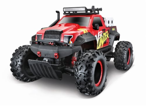 Maisto Overlander RC Vehicle Perspective: front