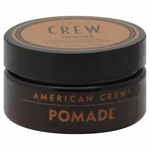 American Crew Medium Hold Pomade Perspective: front
