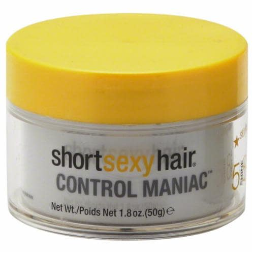 Short Sexy Hair Control Maniac Sculpting Wax Perspective: front