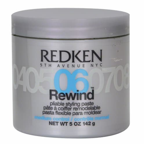 Redken 06 Rewind Pliable Stylng Paste Perspective: front