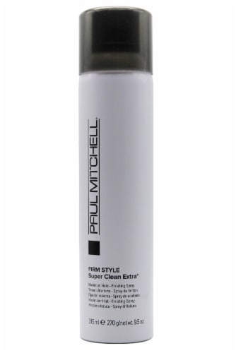 Paul Mitchell Firm Style Super Clean Extra Finishing Spray Perspective: front