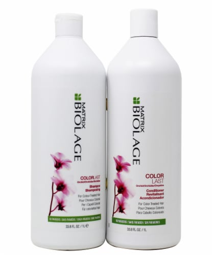 Biolage ColorLast Shampoo and Conditioner Set Perspective: front