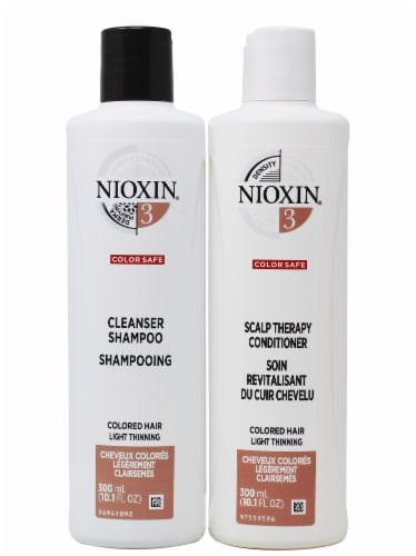 Nioxin Color Safe Shampoo & Conditioner 2 Count Perspective: front