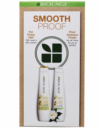 Biolage Smooth Proof Shampoo & Conditioner Set 2 Count Perspective: front