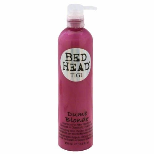 Bed Head Dumb Blonde Shampoo Perspective: front