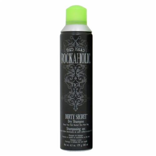 TIGI Bed Head Rockaholic Dirty Secret Dry Shampoo Perspective: front