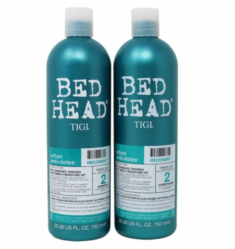 Bed Head Urban Antidotes Recovery Shampoo and Conditioner 2 Count Perspective: front