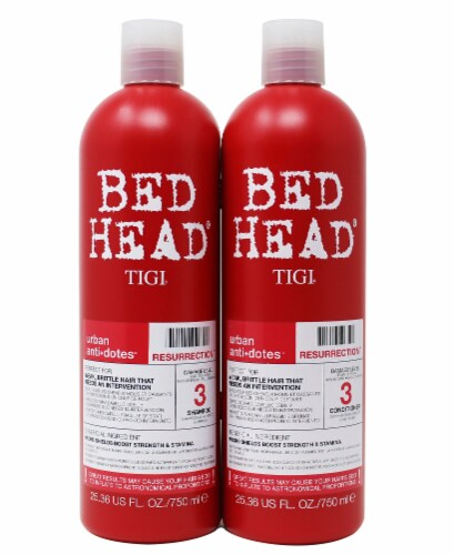 Bed Head Urban Antidotes Resurrection Shampoo and Conditioner 2 Count Perspective: front