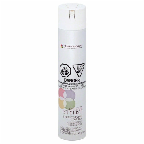 Pureology Stylist Strengthening Control Hairspray Perspective: front