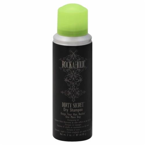 TIGI Rockaholic Dirty Secret Dry Shampoo Perspective: front
