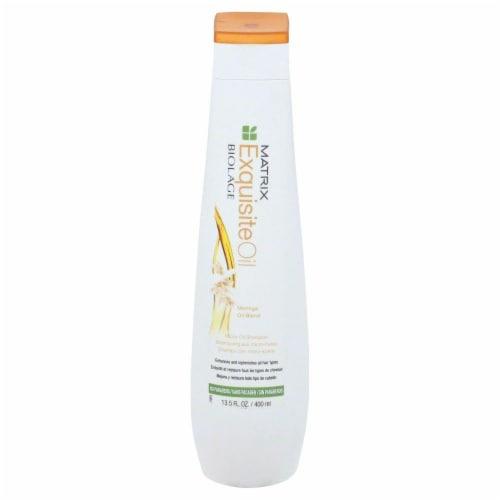 Matrix Biolage Exquisite Oil Shampoo Perspective: front