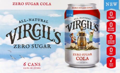 Virgil's Zero Sugar Cola Perspective: front
