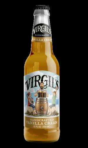 Virgil's Handcrafted Vanilla Cream Soda Perspective: front