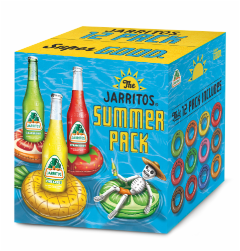 Jarritos Soda Variety Pack Perspective: front