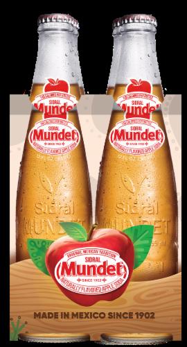 Sidral Mundet Apple Soda Perspective: front