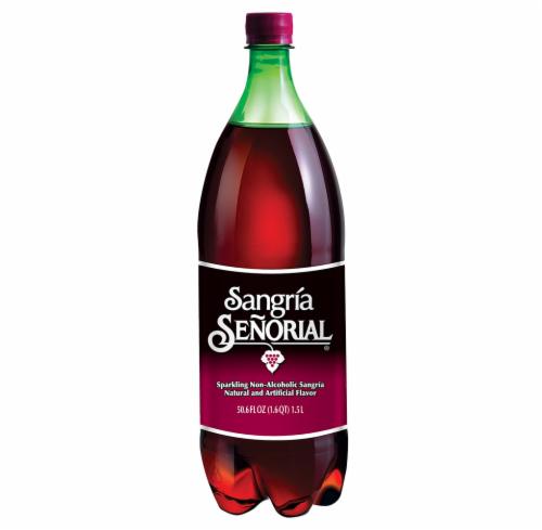 Sangria Senorial Sparkling Non-Alcoholic Sangria Soda Perspective: front