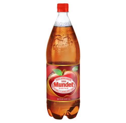 Sidral Mundet Apple Soda Perspective: front